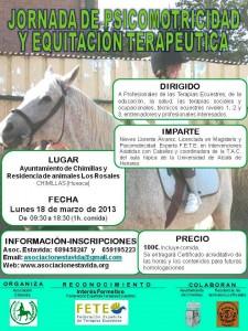 Cartel Curso Psicomotricidad Marzo 2013