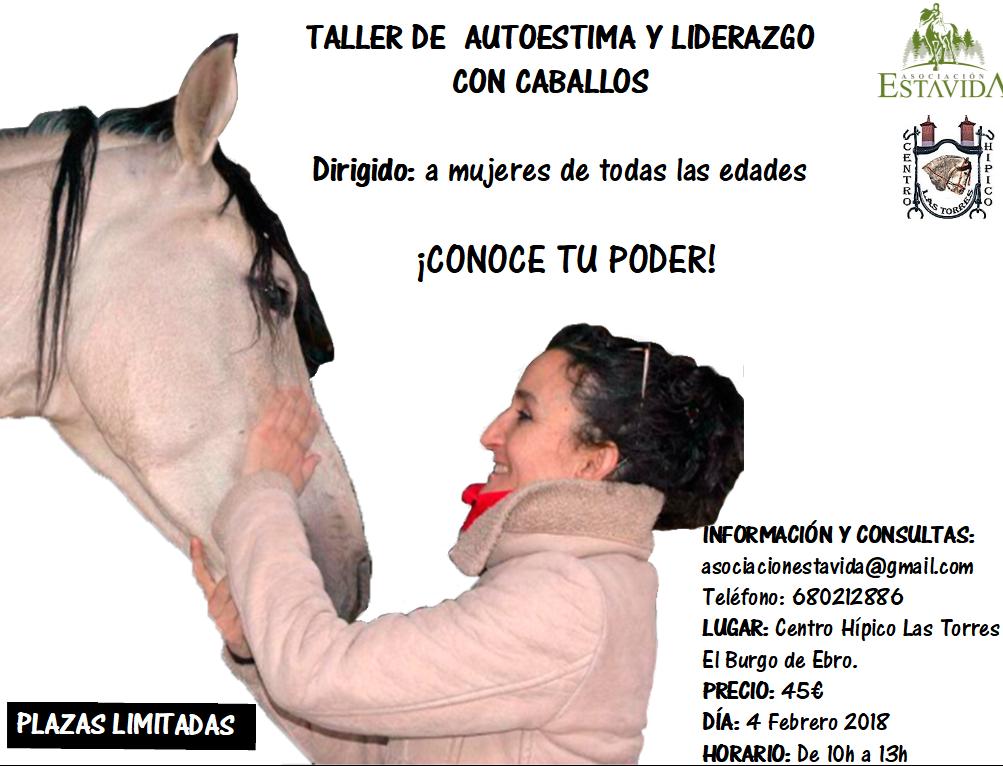 AUTOESTIMA Y LIDERAZGO CON CABALLOS