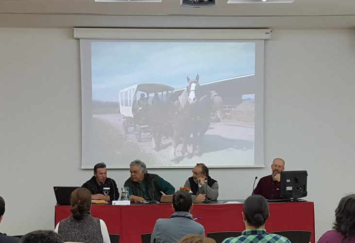 """Ponencia. Enmanuel Flaurendidier. CFPPA. Montmorillón (Francia) """"El caballo, facilitador de las tareas agrícolas""""."""