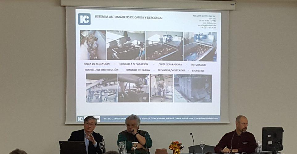 """Abdón Beitía . Kollvick SL. """"Compost """"in situ"""" con TA.  Un avance que preserva el Medio Ambiente""""."""